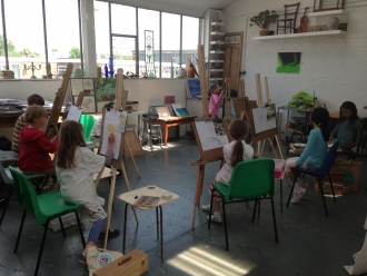 Saturday Morning Painting class