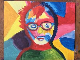 Portraits in colour